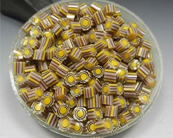 MURRINI chips MURRINE COE 104 Donna Millard Honeycomb copper enameling torch fired