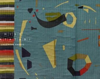 Nani Iro Kokka Japanese Fabric Wonder world - calm - 50cm