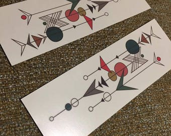 2 Temporary Tattoos (Free domestic shipping)