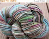 February Sale FRUIT LOOPS Handpainted Yarn Wool Mohair 115yards 2.4oz Worsted Weight Knitting Aspenmoonarts Hand Painted