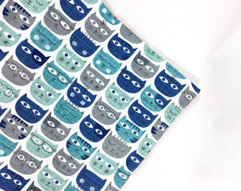 Blue Cats Organic Catnip Mat Toy By For Mew, Refillable, Washable, Cat Bed, Cat Furniture, Gift For Cat Lovers