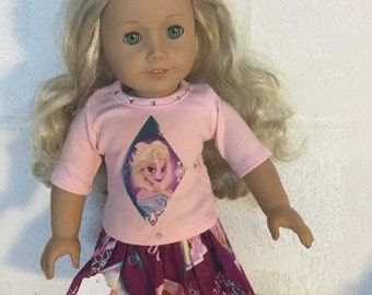 "Doll clothes for the 18"" doll like the American girl doll"