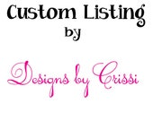 15 Custom personalized ponytail streamers