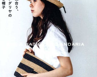 Bag and Hat of Eco Andaria - japanese craft book