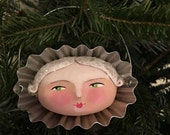 snow girl ORIGINAL ornament