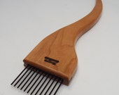 new item-weaving beater or fork- Cherry-Coarse