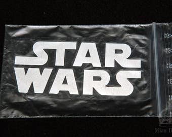 Star Wars reflector / Hand made reflector / 3M reflector / Iron on reflector / Safety reflector