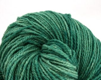 Mohonk Hand Dyed sport weight NYS Wool 370 yds 4oz Frosted Emerald
