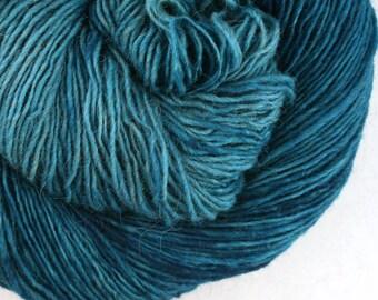 Olana fingering weight cormo alpaca angora blend yarn 300yds/274m 2oz/57g North Atlantic