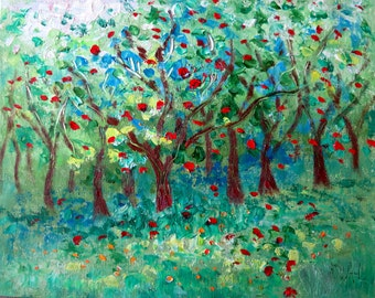 Apple Tree Grove  - photo print - 8 x 10 - BUY 2 get 1 FREE