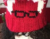 Bearnie Sanders knitted hat beanie pussy hat women's march cat ears science march cat hat