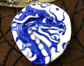 NEW Lampwork Dragon Focal Bead by Kerribeads