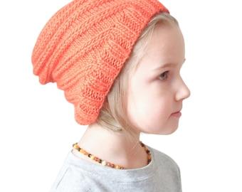 PDF Knitting Pattern, The Graham Twist Hat