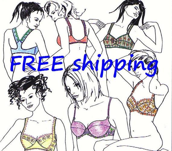 FREE Ship Pattern BHS10 with 5 BRAS by Merckwaerdigh