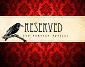Reserved For Linda Hawkins