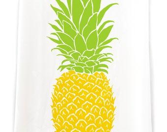 Pineapple Flour Sack Kitchen Towel