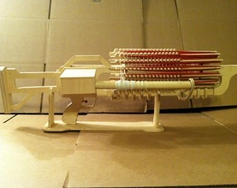 Rubberband machine gun