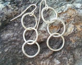 Hoop de Hoop Sterling Silver Earrings