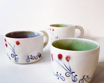 One Bikes And Ballons Mug - IN STOCK