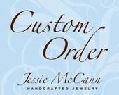 Custom Order for Deborah - Personalized Sterling Silver Hand Stamped Guitar Pick Pendant Necklace