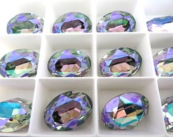 1 Paradise Shine Swarovski Crystal Stone Oval 4120 18mm x 13mm