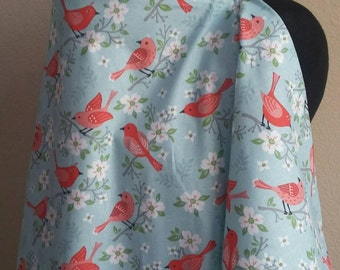 Breastfeeding  Cover, Nursing Cover, Birdie  Nursing Cover Up