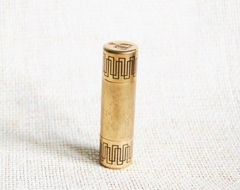 "Vintage 1950s ""My Sin"" Perfume Bottle Lanvin Novelty Miniature for Purse"