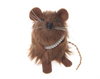 Star Wars Chewbacca ornament mouse rat hamster cute gift for Star Wars fan men man dad husband boyfriend brother geek nerd collector