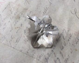 Crystal Snowflake Charm