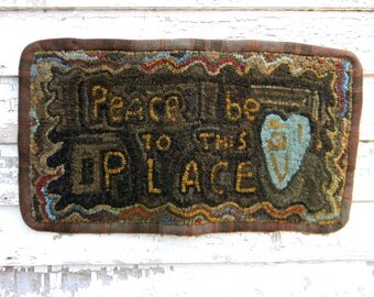 To This Place - Rug Hooking PAPER Pattern - from Notforgotten Farm™
