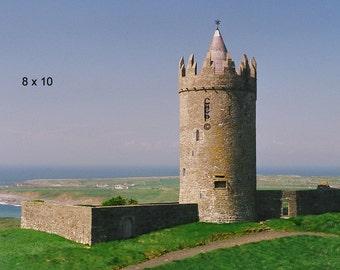 Doolin, County Clare, Irish Castle, Doonagore Castle Ireland Photography Art Print Irish Decor Landscape Photo, Wall Decor, Office Decor