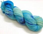 Superwash wool/polyamide sock yarn