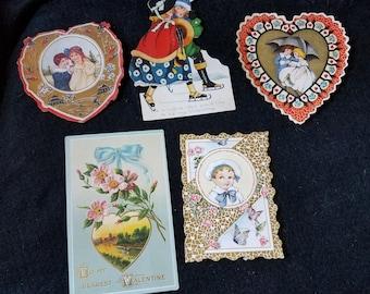 Valentines/Vintage/1920s/Collectible/Ephemera
