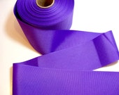 Wide Purple Ribbon, Light Grape Purple Grosgrain Ribbon 3 inches wide x 3 yards