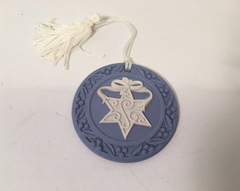 Star of David Wedgwood Ornament