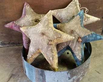 Primitive Americana Star Ornaments