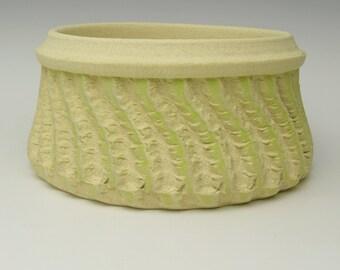 Handmade Pottery Planter pot Stoneware planter ceramic succulent Planter cactus planter herb plant pot Bonsai plant pot 7x 3 1/2  j9