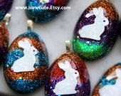 Custom made to order Easter Eggs & Penguin Pendants by isewcute