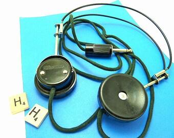 Vintage Radio Operators Headphones