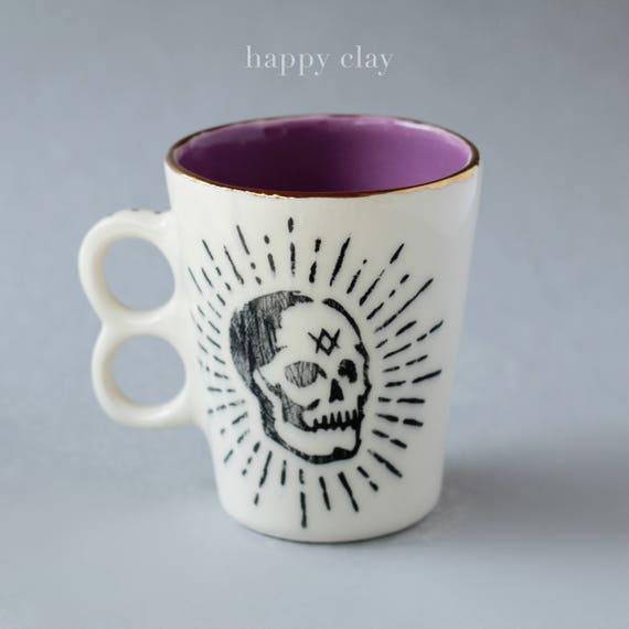 Born to Die Handmade Mug