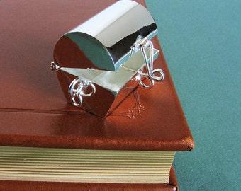 Treasure Chest Locket Pendant - Empty for your own secret stash