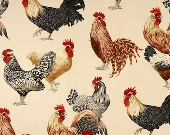 Kitchen Curtains chicken kitchen curtains : Chicken curtains | Etsy UK
