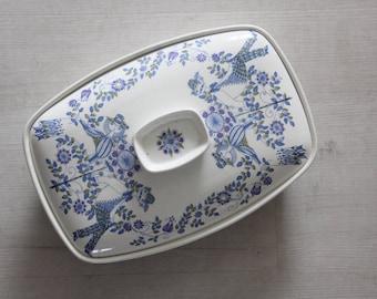 Figgjo Flint Lotte Turi Casserole Dish 1960s Norway