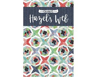 SALE // Hazel's Web Quilt Pattern *Printed Pattern* // 1canoe2