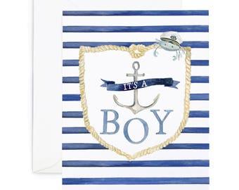 Nautical Boy Card