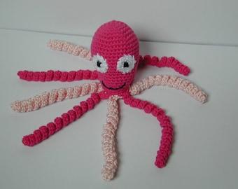 Crochet Octopus Preemie Toy Amagurumi