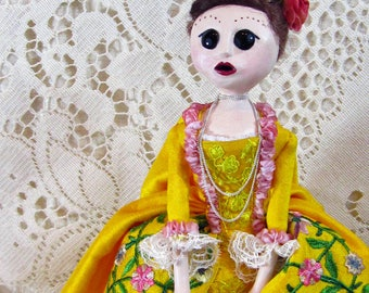 Madame Kathryn - Elizabethan Art Doll by Natasha Morgan