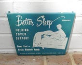 Vintage Metal Sign Vintage Better Sleep Sign Vintage Made In USA Sign Industrial Sign
