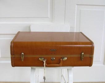 Vintage Samsonite Suitcase, Brown Case, Vintage Suitcase, Vintage Luggage, Brown Samsonite Suitcase, Retro Suitcase