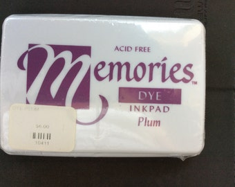 Memories Dye Inkpad Plum